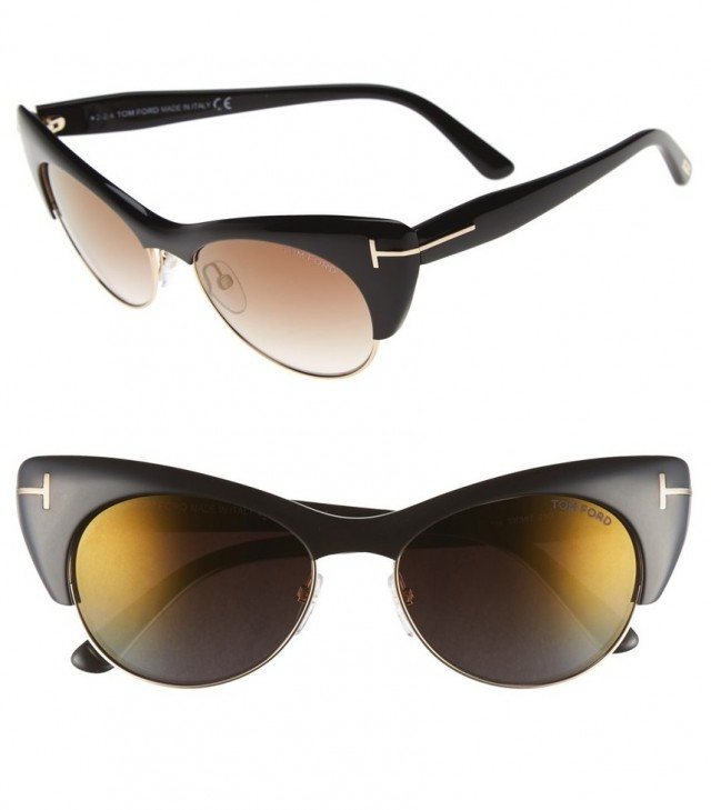 TOM FORD SUNGLASSES FT0387 01G