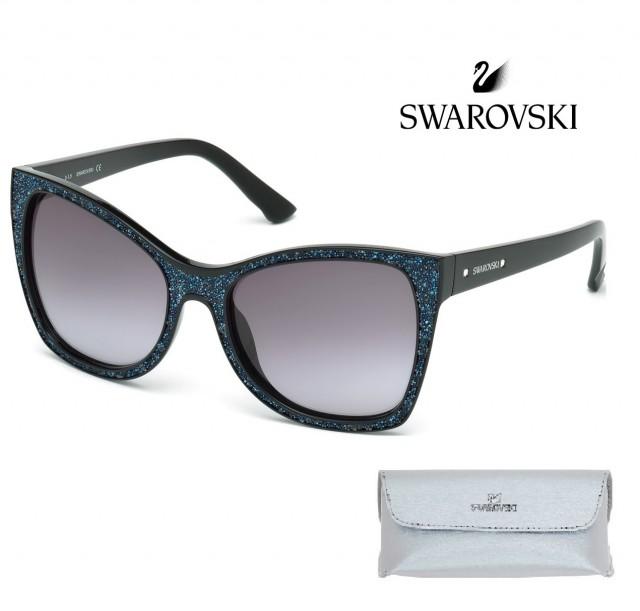 SWAROVSKI SUNGLASSES SK0109 01B