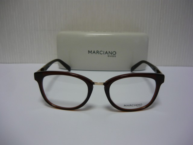 GUESS BY MARCIANO OPTICAL FRAMES GM0215 BRN