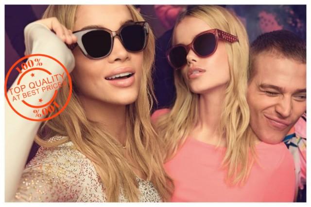 Докато фалшивите часовници и дамски чанти представляват сравнително ниска опасност за клиента, фалшивите слънчеви очила могат да бъдат истински опасни. Тъй като са изработени от евтини материали, те рядко отговарят на стандартите за безопасност и обикновено нямат филтър, който да предпазва от вредните за очите ултравиолетови лъчи. Носенето на фалшиви слънчеви очила може да е много по-опасно за очите, отколкото тяхната липса.