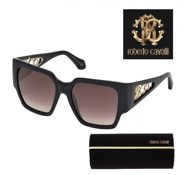Roberto Cavalli Sunglasses RC1079 01G 55