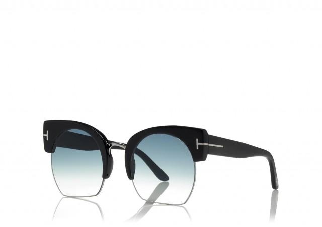 Tom Ford Sunglasses FT0552-F 01W 55