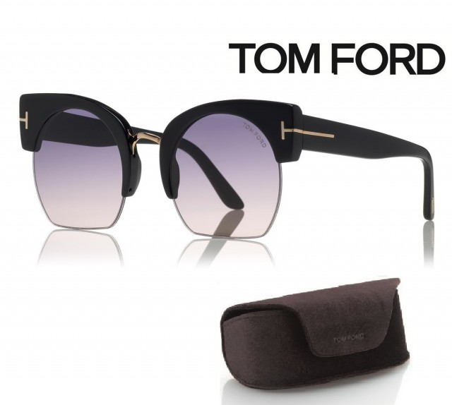 Tom Ford Sunglasses FT0552 01B 55