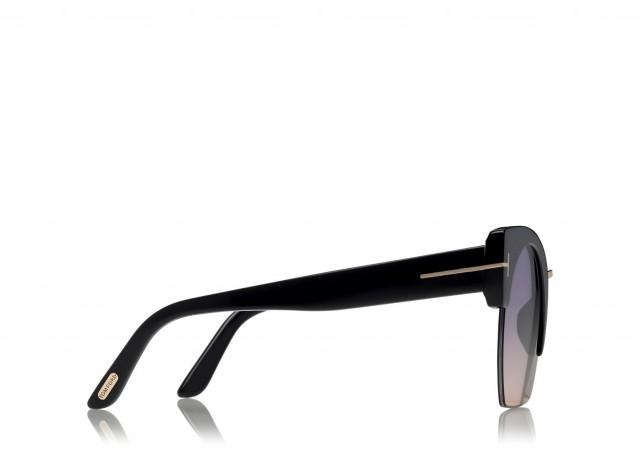 Tom Ford Sunglasses FT0552 01B 55