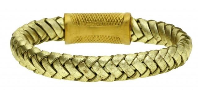 POLICE Leather bracelet PJ22045BLG-06-21