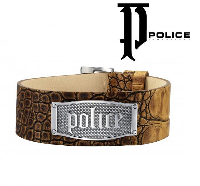 POLICE МЪЖКА КОЖЕНА ГРИВНА