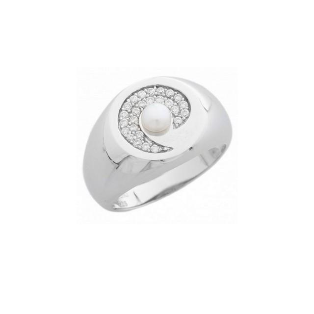 Misaki Ring silver Gr. 50 SPIRALE QCURSPIRALE50