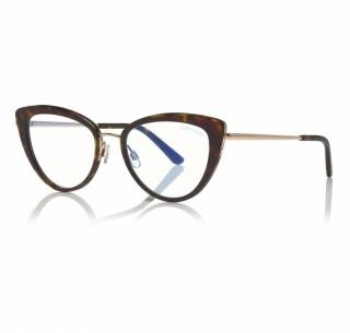 Tom Ford Optical Frame FT5580-B 052 55 Blue-Filter