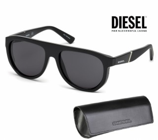 Diesel Sunglasses DL0255 01A 56