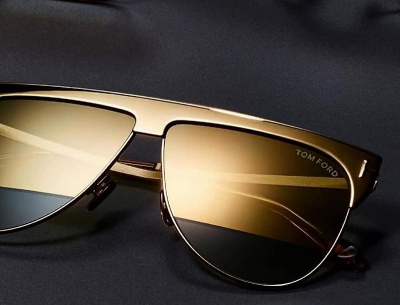 Лимитиран модел слънчеви очила - TOM FORD WINTER FT0707 Limited Gold Edition