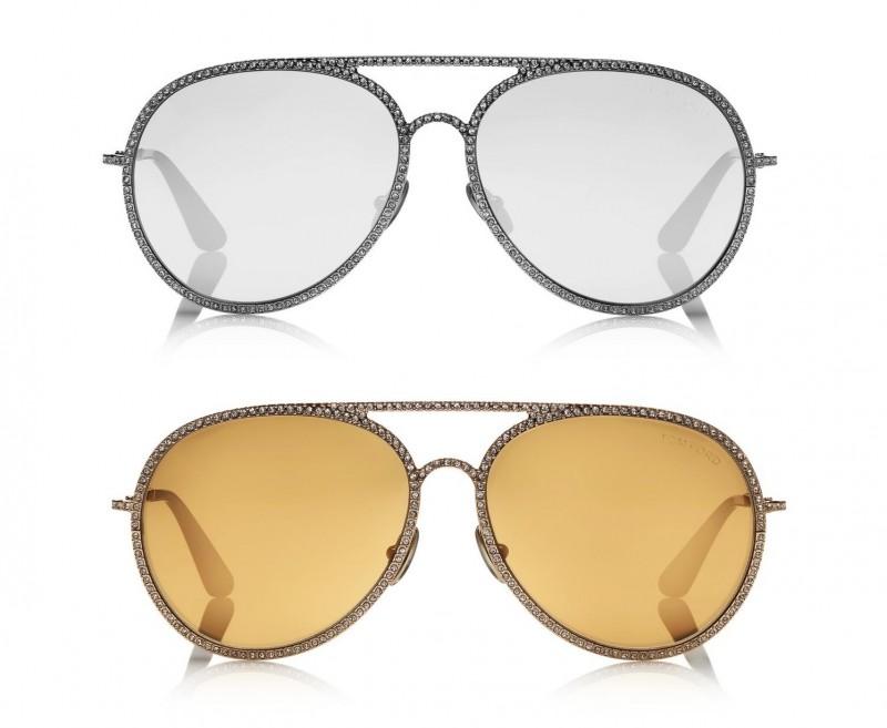 Разбродажба на лимитирани модели слънчеви очила Том Форд