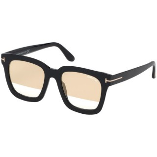 Tom Ford Sunglasses FT0690-F 53 01G