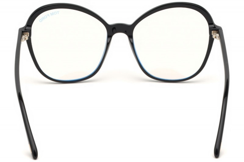 Tom Ford Optical Frame FT5577-B 001 55 Blue-Filter