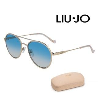 LIU JO SUNGLASSES LJ119S/54/GOLD/SILVER