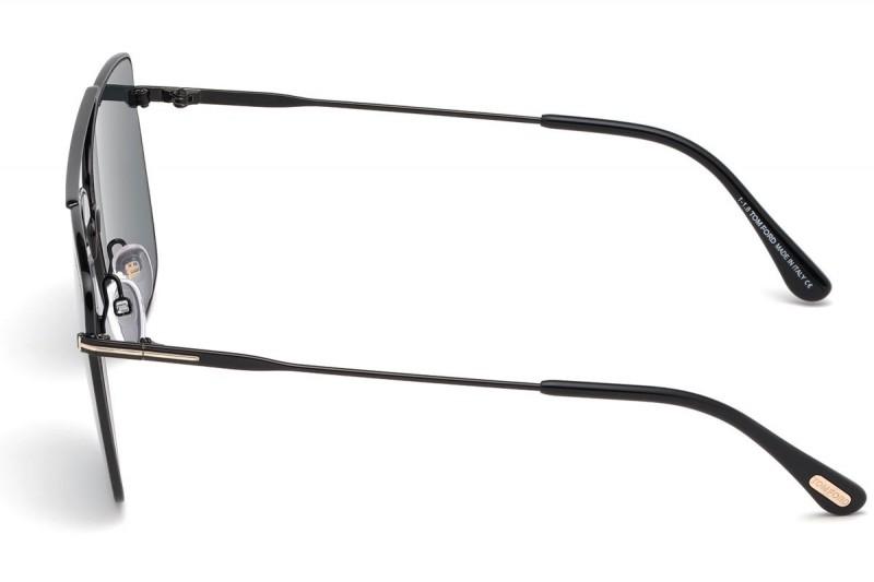 Tom Ford Sunglasses FT0651 01V 60