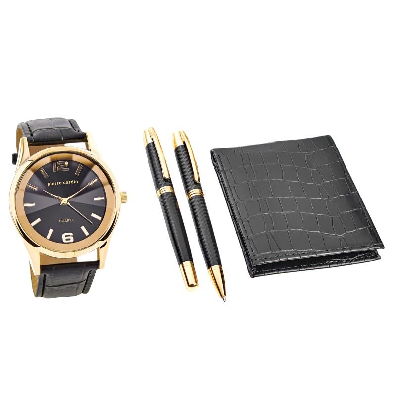 Pierre Cardin Gift Set Watch & Wallet & Pen PCX7870EMI